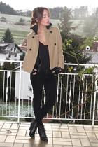 beige Old Navy jacket - black SilenceNoise jacket - black wilfred top - black De