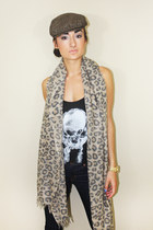 wilfred scarf - J Brand jeans - hat - Talula top