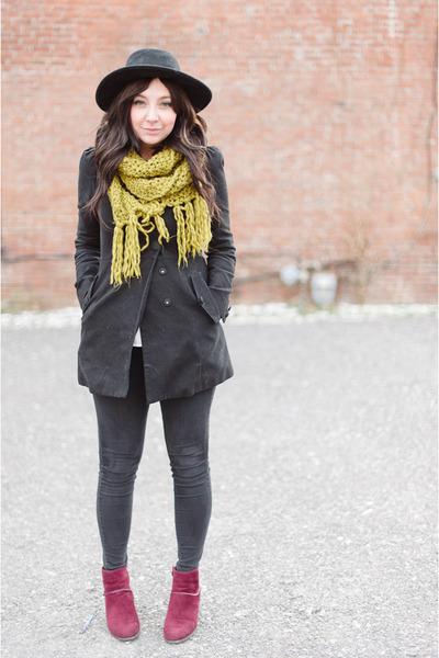 black BDG jeans - black H&M jacket