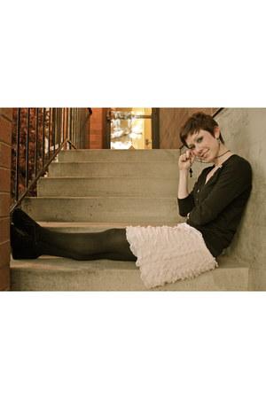 black Gap sweater - light pink Target skirt - black Vince Camuto wedges