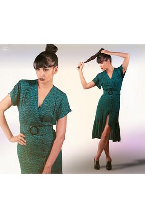 secretary dress vintage dress