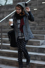 Black-tweed-h-m-coat-black-zara-bag-black-worthington-pants