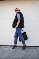H&M vest - Topshop jeans