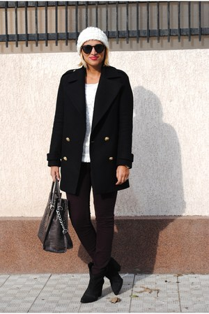 Zara coat - Michael Kors bag