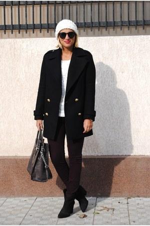 Zara coat - Michael Kors bag