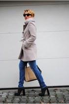 Alexander Wang boots - Zara coat