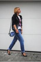 Marni jacket - Topshop jeans - Phillip Lim bag