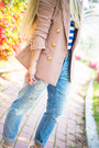 Sky-blue-8-seconds-jeans-light-pink-kpopsicle-blazer-white-choies-bag
