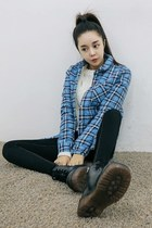 black yubsshop boots - black yubsshop jeans