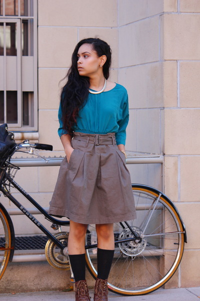 asos top - martin and osa skirt