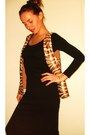 Black-miss-sixty-dress-bronze-h-m-vest