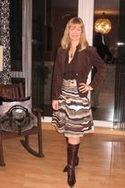 skirt - blouse - belt - purse - Konplott necklace