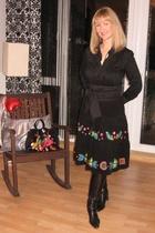 blouse - Promod skirt - Promod purse - belt