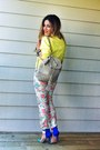 Yellow-bomber-jacket-topshop-jacket-light-pink-backpack-topshop-bag