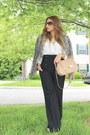 Beige-zara-blazer-white-zara-shirt-black-mango-pants
