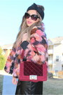 Asos-hat-faux-fur-jacket-riverisland-jacket-shoedazzle-purse