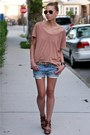 Sky-blue-7-for-all-mankind-shorts-light-brown-jcrew-t-shirt