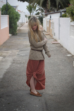 Zara skirt - Mango jumper