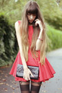 Red-tulle-jones-jones-dress-black-jonathan-ashton-tights