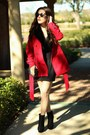 Black-suede-platform-gojane-boots-red-faux-fur-collar-forever-21-coat
