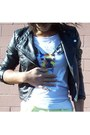 Black-forever-21-jacket-light-yellow-pac-sun-jeans-white-aerie-t-shirt