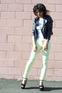 Light-yellow-pac-sun-jeans-black-forever-21-jacket-white-aerie-t-shirt