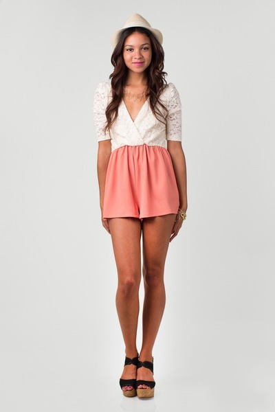 nectar clothing romper - nectar clothing hat - nectar clothing wedges