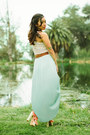 Aquamarine-nectar-clothing-skirt-cream-nectar-clothing-top