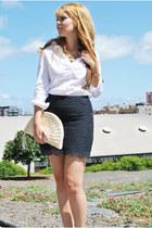 Mango skirt - Zara blouse
