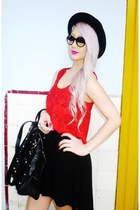 Sugarlips dress - THE CULTLABEL bag - THE CULTLABEL sunglasses