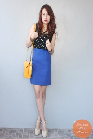 privelege shoes - Q&A skirt - Forever 21 top