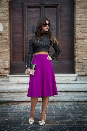 Luisa Spagnoli skirt - LORIBLU shoes - Pimkie bag