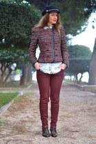 crimson Zara jeans - black Marc B purse