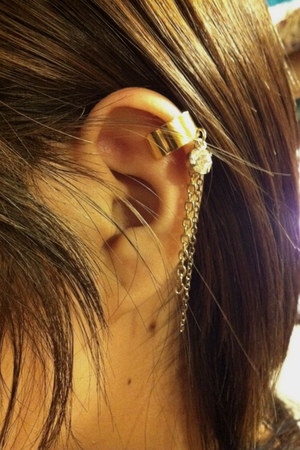 gold Made By Me  earrings