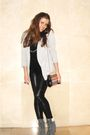 Black-blanco-leggings-silver-sfera-blazer