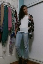 kimono Forever 21 cardigan - black Call it Spring boots