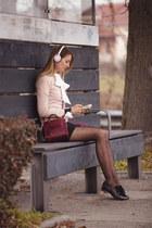 carlo pazolini shoes - Rebecca Minkoff bag - Pioneer earrings - Zara skirt