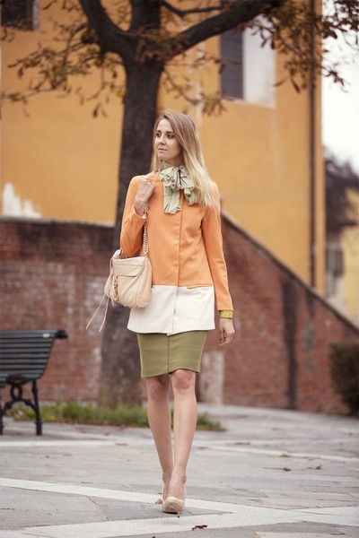 PERSUNMALL coat - Coccinelle shoes - Rebecca Minkoff bag