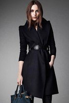 Cool Street-chic Belt Wrap Coat Overcoat