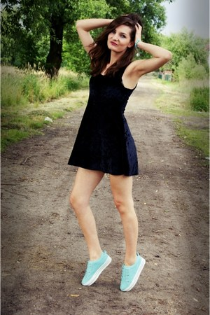 deezee shoes - Topshop dress