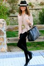 Black-pilar-burgos-shoes-black-prada-bag-black-forever21-shorts