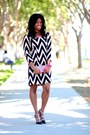 Black-chevron-winter-lennon-dress-black-erin-shoedazzle-pumps