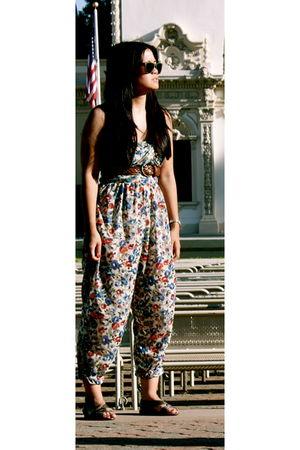 Zara pants - H&M belt - Office shoes