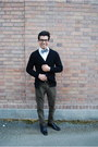 J-crew-tie-black-steve-madden-shoes-white-express-shirt-black-h-m-cardigan