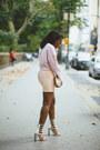 Light-pink-h-m-top-neutral-american-apparel-skirt