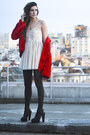Black-forever21-shoes-off-white-lace-lf-dress-red-faux-fur-jacket-black-gl
