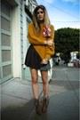 Ruby-red-vintage-scarf-mustard-yesstyle-sweater-teal-seneca-rising-skirt-l