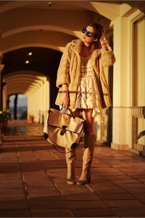 eggshell tunic free people dress - beige snake embossed Michael Kors boots
