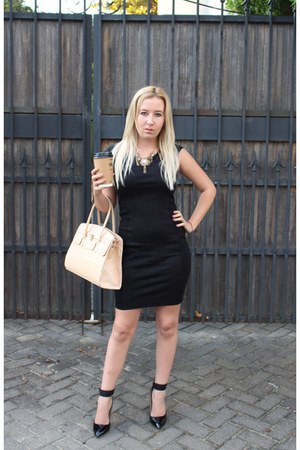 YDE dress - Aldo bag - utopia heels - zuri necklace