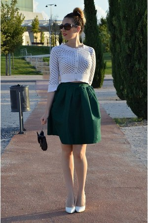 forest green Aliexpress skirt